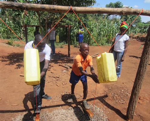 Sponsoring Gives Water